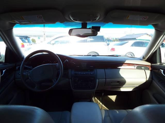 キャデラック キャデラック ドゥビル 本革エアーシート シートヒーター オーディオ