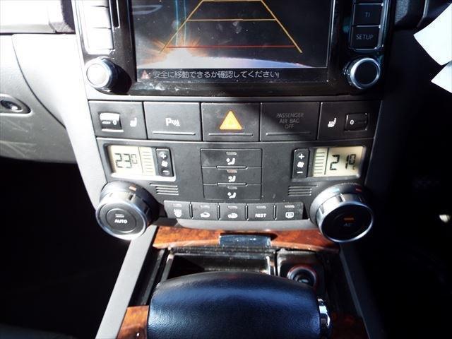 V6 CDCエアサスペンション装着車4WDSR黒革ナビ(18枚目)