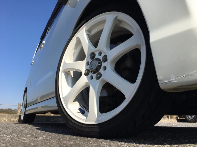 スズキ ワゴンRスティングレー T メモリーナビ TV ETC 車高調 16AW