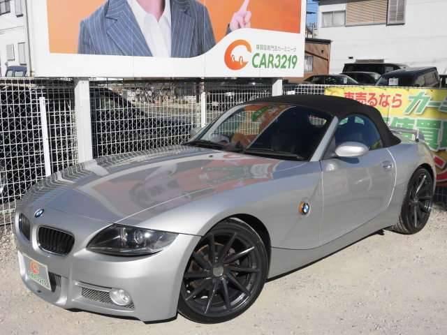 BMW BMW Z4 2.2i電動オープンエアロ 黒革シート HDDナビ 19AW