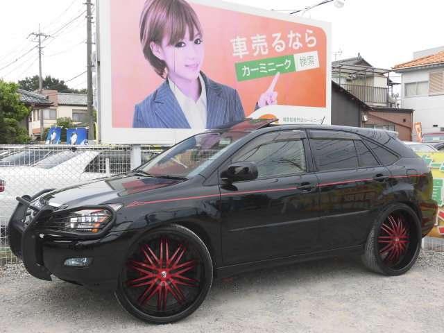 トヨタ ハリアー 300G アルカンターラ 内外カスタム済 レクサーニ26AW