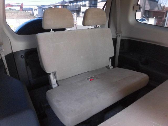 サードシート有 収納可能