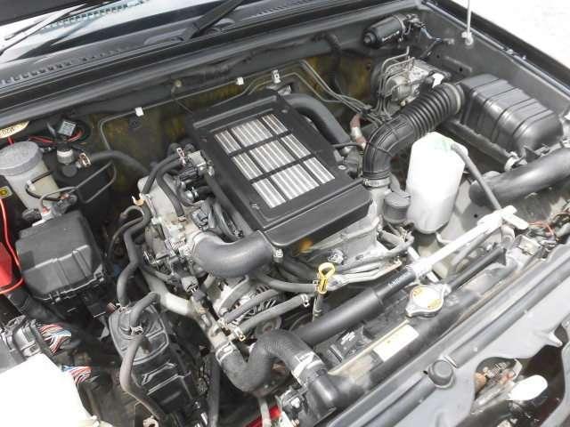 こちらのエンジンはタイミングチェーンタイプの為、交換不要です♪安心してお乗り頂けます♪