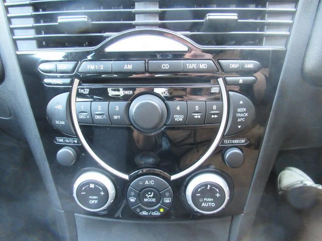 マツダ RX-8 ベースグレード 16インチ HID キーレス CD 後期型
