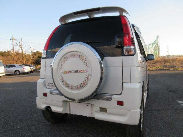 カスタムLターボ エアロ 15AW キーレス CD 走行6万(8枚目)
