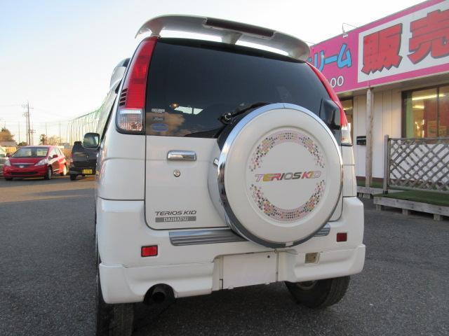 カスタムLターボ エアロ 15AW キーレス CD 走行6万(9枚目)