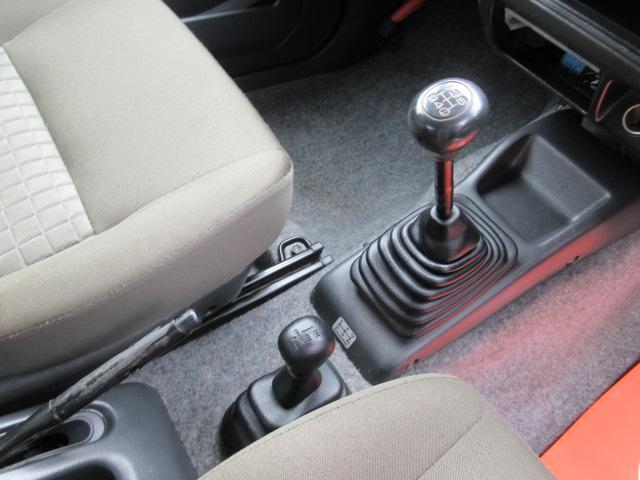 走りの5速&切り替え式4WD