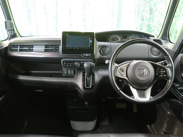 G・Lターボホンダセンシング 両側電動スライドドア ホンダセンシング 禁煙車 純正SDナビ レーダークルーズコントロール シーケンシャルターンランプ バックカメラ Bluetooth再生 フルセグ ETC ハーフレザーシート(6枚目)