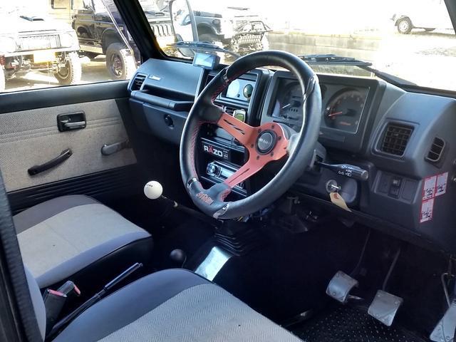 スズキ ジムニー 公認車 JA11V改 リフトアップ AC PS MT AW