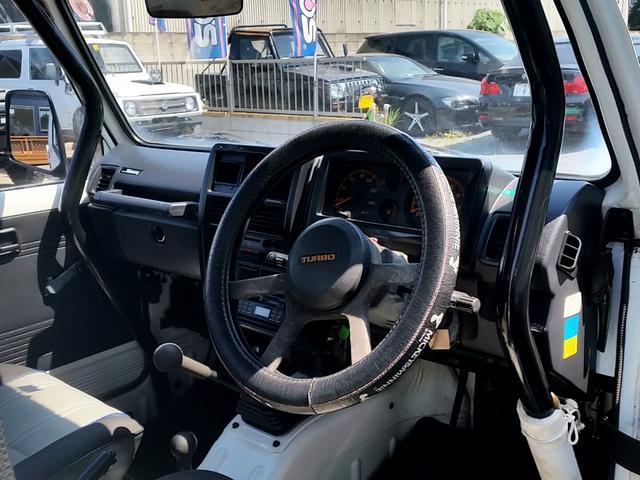 スズキ ジムニー インタークーラーターボ 5MT ロールバー リフトアップ公認