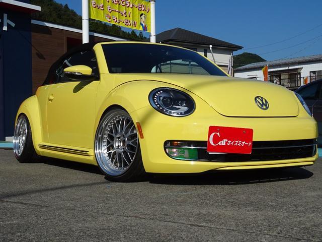 「フォルクスワーゲン」「VW ザビートルカブリオレ」「オープンカー」「埼玉県」の中古車2