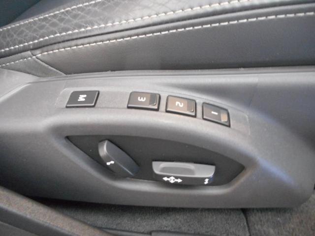 運転席側メモリー付きパワーシート