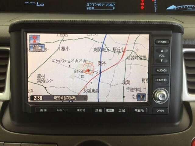 スパーダS HDDナビ スマートスタイルED 純正HDDナビ(7枚目)