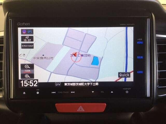 ホンダ N-BOXスラッシュ X サウンドマッピングシステム 純正メモリナビ フルセグTV