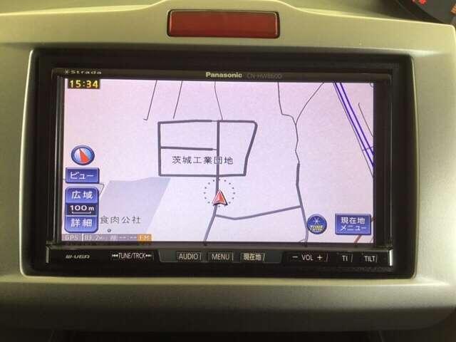 G エアロ ハイウェイエディション 社外HDDナビ ETC(7枚目)