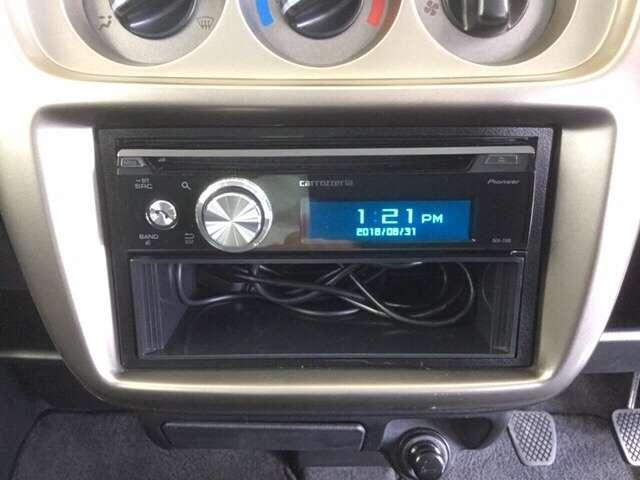 社外製CDデッキ付き。 【カロッツェリア DEH-7100】 ※社外品CDのため保証の対象外となります。