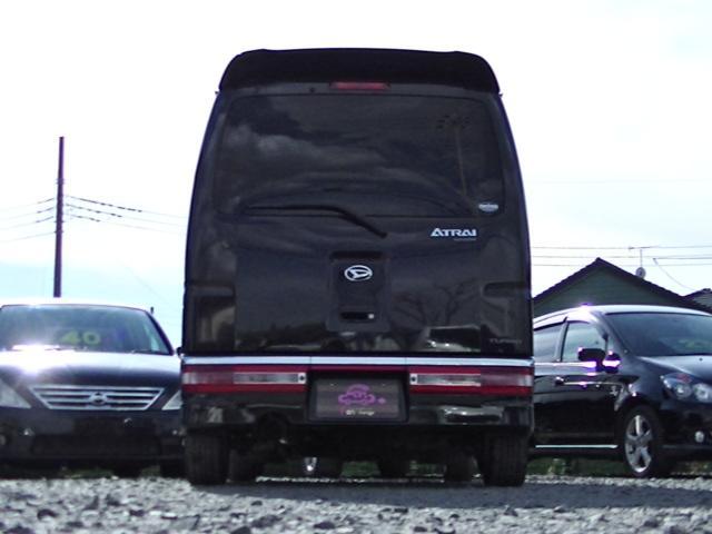 ダイハツ アトレーワゴン カスタムターボRS ブラックエディション 14AW HID
