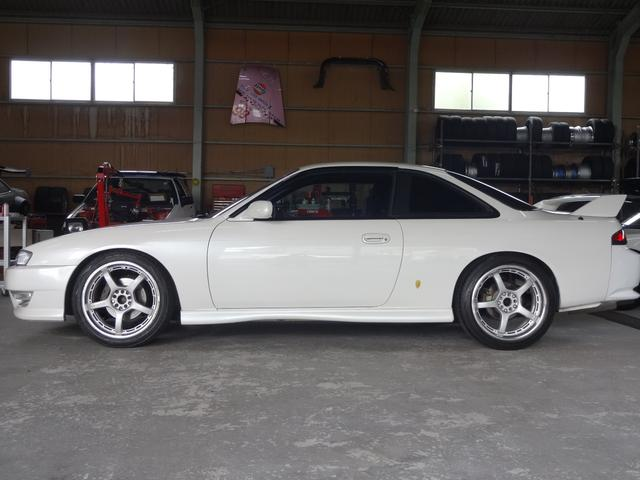 日産 シルビア K's ターボ 5MT ブーストUP 車高調 LSD