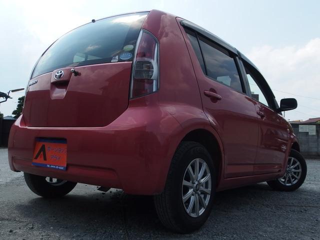 トヨタ パッソ G Fパッケージ スマートキー 社外アルミ