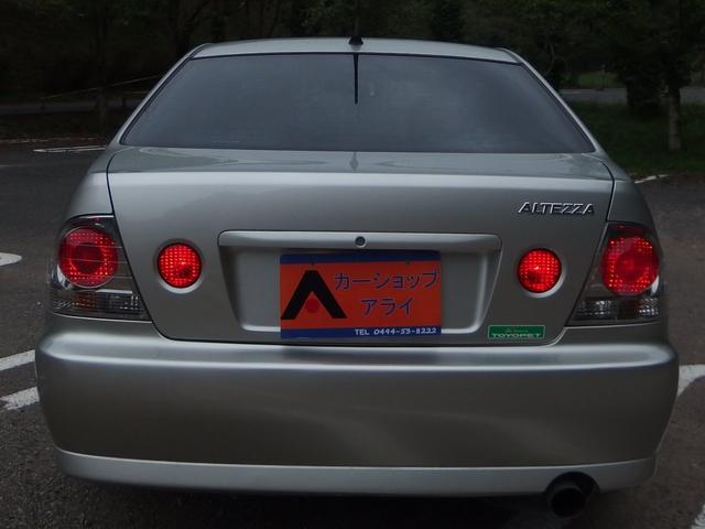 トヨタ アルテッツァ RS200 Zエディション 6速マニュアル 外ナビ 地デジ
