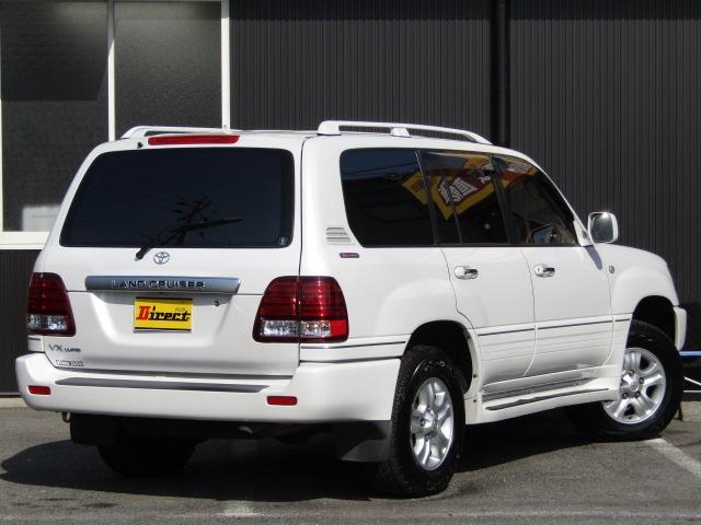 トヨタ ランドクルーザー100 VX-LTD50周年記念特別仕様車 背面レス 24インチAW