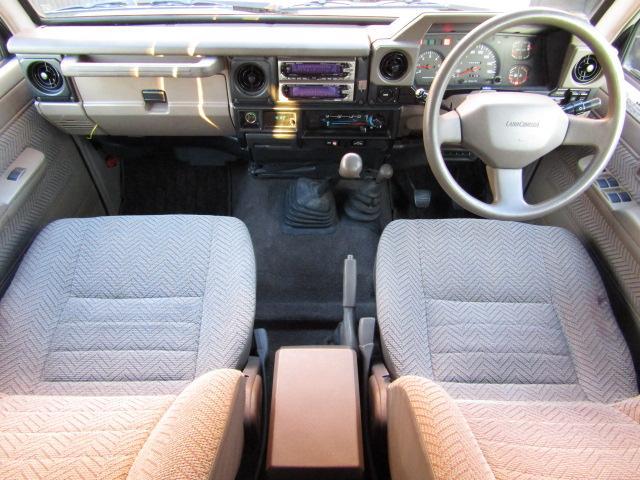 トヨタ ランドクルーザー70 LX 5速マニュアル DPF装着車 新品ホイール 新品タイヤ