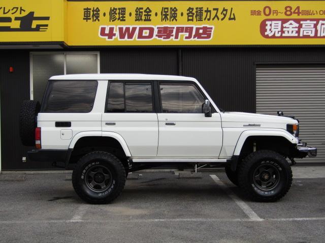 「トヨタ」「ランドクルーザー70」「SUV・クロカン」「栃木県」の中古車4