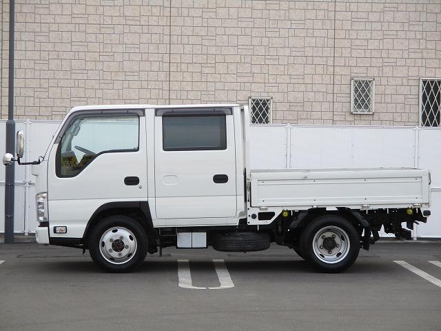 いすゞ エルフトラック 4WD・2t積・Wキャブ・左電動ミラー