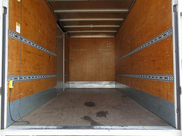 いすゞ エルフトラック 2t積・アルミバン・跳ね上げパワーゲート1000kg