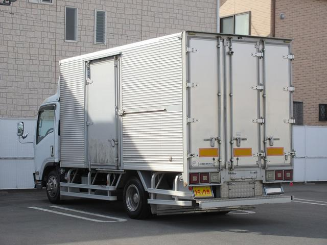 3.5t積・アルミバン・ワイドロング・両側サイドドア(4枚目)