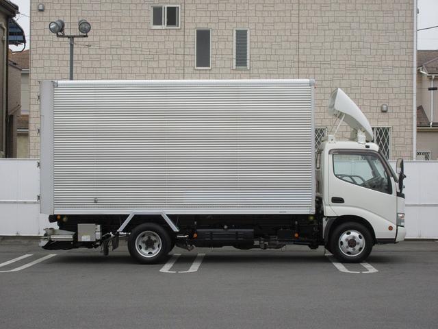 4WD・2t積・アルミバン・格納パワーゲート・サイドドア(5枚目)