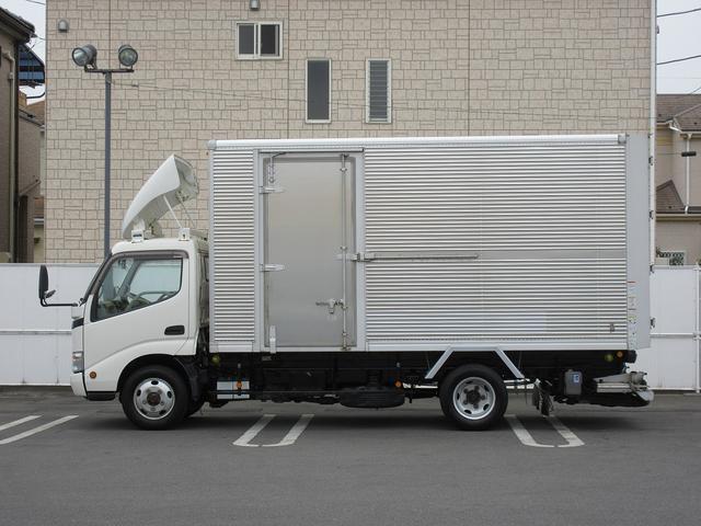 4WD・2t積・アルミバン・格納パワーゲート・サイドドア(6枚目)
