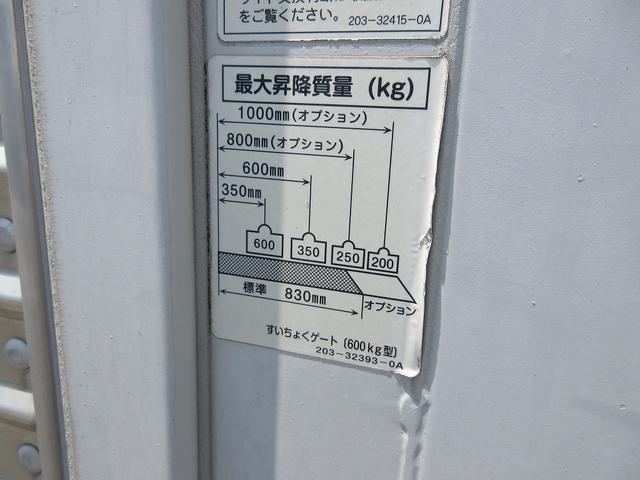 2t積・アルミバン・垂直パワーゲート・ラッシングレール2段(9枚目)