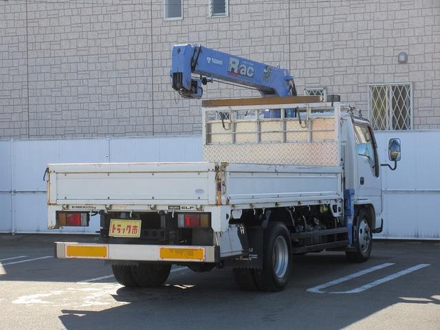 3t積・3段クレーン・平ホディ・ラジコン・2.63t吊り(4枚目)