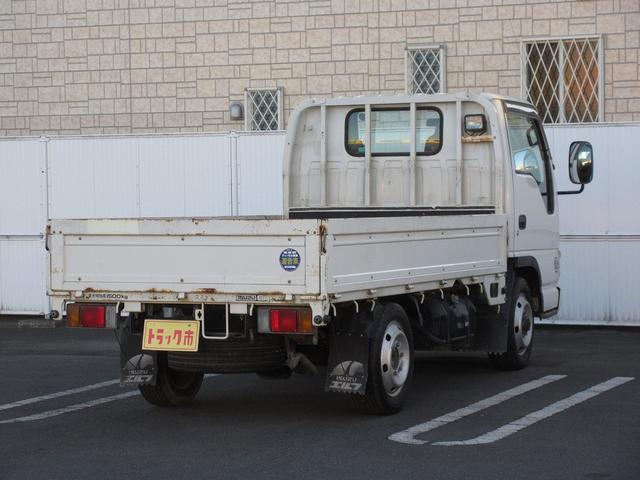 1.5t積・平ボディ・標準10尺・AT・H-L切り替え4WD 1.5t積・エルフ平ボディ・標準10尺・H-L切り替え4WD(4枚目)