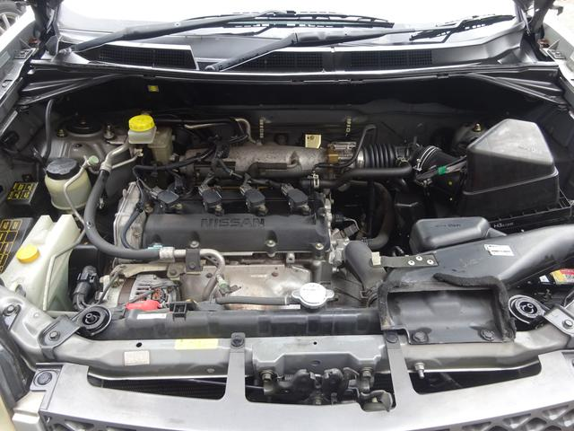 日産 エクストレイル S キーレス 4WD ABS ETC DVDナビ