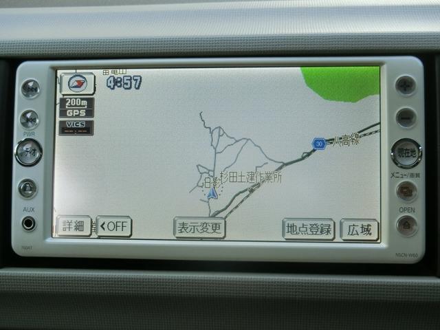 トヨタ パッソ XDVDナビ フルセグTV ETC キーレス
