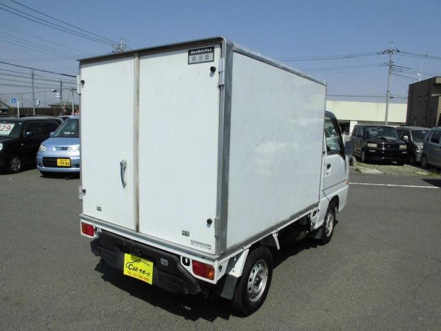スバル サンバートラック 保冷車 タイミングベルト交換済 パワステ エアコン 660