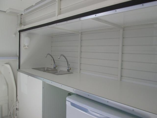 内装はシンプル&清潔感のあるホワイトで統一。
