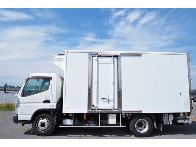 冷蔵冷凍車 低温仕様 上物冷凍機 三菱TDJS50A-L2 -30度 サイドドア 新明和製格納式パワーゲート付き ゲート内寸幅190奥行130cm 昇降能力1t ラッシング2段 積載3t バックカメラ(2枚目)
