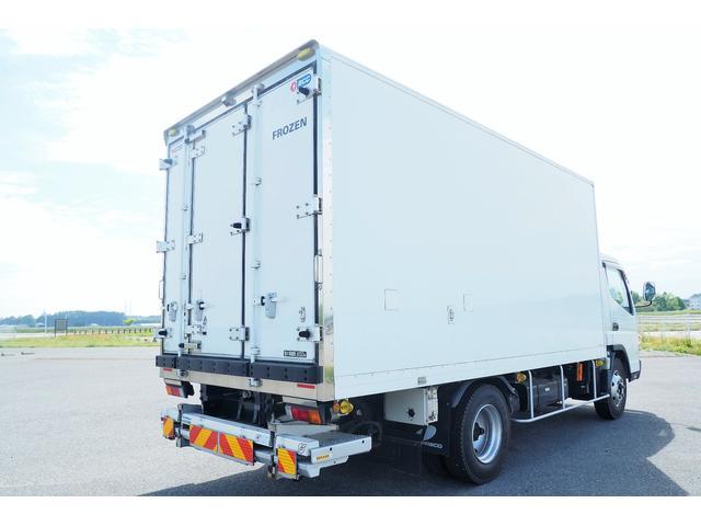 冷蔵冷凍車 低温仕様 上物冷凍機 三菱TDJS50A-L2 -30度 サイドドア 新明和製格納式パワーゲート付き ゲート内寸幅190奥行130cm 昇降能力1t ラッシング2段 積載3t バックカメラ(4枚目)