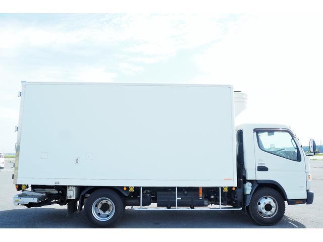 冷蔵冷凍車 低温仕様 上物冷凍機 三菱TDJS50A-L2 -30度 サイドドア 新明和製格納式パワーゲート付き ゲート内寸幅190奥行130cm 昇降能力1t ラッシング2段 積載3t バックカメラ(5枚目)