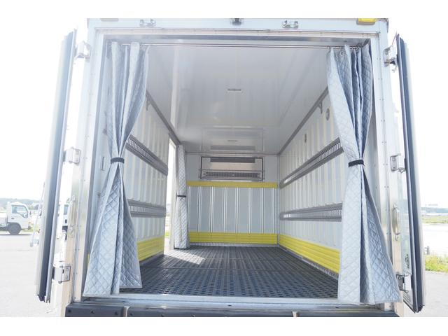 冷蔵冷凍車 低温仕様 上物冷凍機 三菱TDJS50A-L2 -30度 サイドドア 新明和製格納式パワーゲート付き ゲート内寸幅190奥行130cm 昇降能力1t ラッシング2段 積載3t バックカメラ(14枚目)