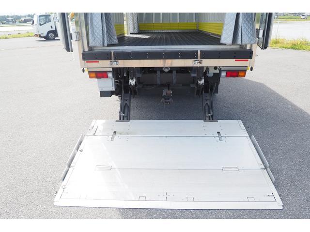 冷蔵冷凍車 低温仕様 上物冷凍機 三菱TDJS50A-L2 -30度 サイドドア 新明和製格納式パワーゲート付き ゲート内寸幅190奥行130cm 昇降能力1t ラッシング2段 積載3t バックカメラ(15枚目)