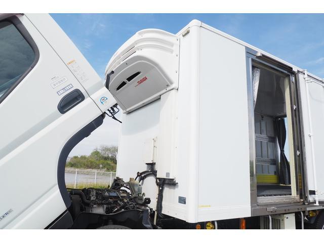 冷蔵冷凍車 低温仕様 上物冷凍機 三菱TDJS50A-L2 -30度 サイドドア 新明和製格納式パワーゲート付き ゲート内寸幅190奥行130cm 昇降能力1t ラッシング2段 積載3t バックカメラ(24枚目)