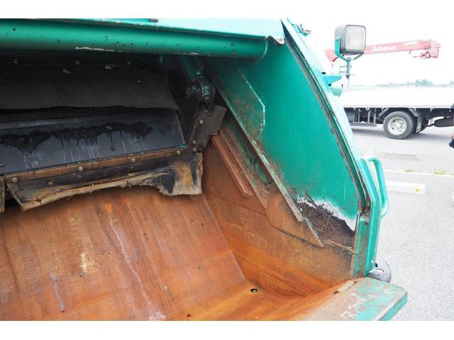 新明和製G-PX GT064 塵芥車 プレス式 パッカー車 上物モデルGT064 連続スイッチ付き 容量6.8立米 汚水タンク付 積載2850kg バックカメラ(11枚目)