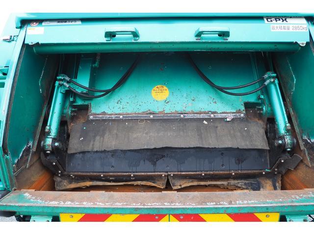 新明和製G-PX GT064 塵芥車 プレス式 パッカー車 上物モデルGT064 連続スイッチ付き 容量6.8立米 汚水タンク付 積載2850kg バックカメラ(13枚目)
