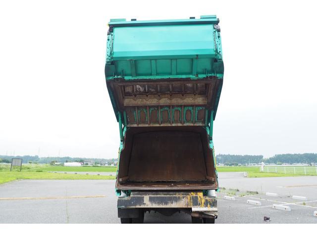 新明和製G-PX GT064 塵芥車 プレス式 パッカー車 上物モデルGT064 連続スイッチ付き 容量6.8立米 汚水タンク付 積載2850kg バックカメラ(20枚目)