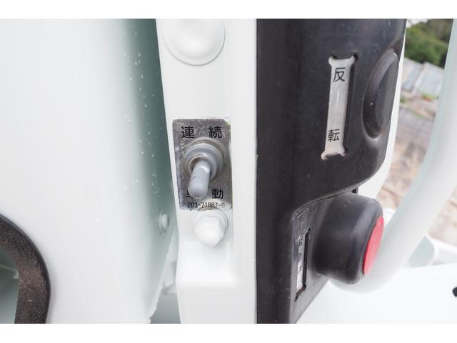 外装仕上げ済み 新明和製 パッカー車 プレス式 4.6立米 コンテナ反転装置付き 塵芥車 汚水タンク 連続スイッチ 積載1.7t 内外装クリーニング中(21枚目)