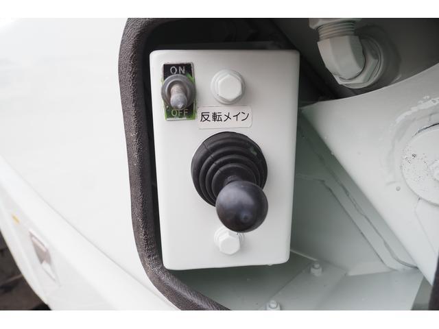 外装仕上げ済み 新明和製 パッカー車 プレス式 4.6立米 コンテナ反転装置付き 塵芥車 汚水タンク 連続スイッチ 積載1.7t 内外装クリーニング中(22枚目)